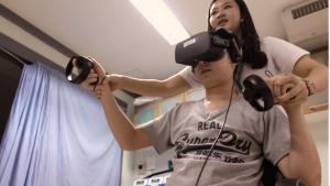 เกมโลกเสมือนจริง (Virtual Reality) ทางเลือกใหม่ฟื้นฟูผู้ป่วยหลอดเลือดสมอง
