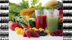 รูปผักผลไม้และอาหารเพื่อสุขภาพ