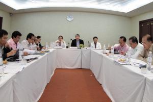 การประชุมระดมความคิดเห็นผู้บริหารระดับสูงต่อการบริหารการเปลี่ยนแปลงกระทรวงสาธารณสุข
