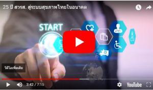 วีดิทัศน์ชุด 25 ปี สวรส. สู่ระบบสุขภาพไทยในอนาคต