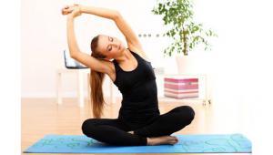 รูปประกอบ ผู้หญิงกำลังออกกำลังกาย