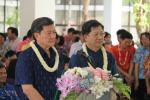สวรส. ร่วมสานประเพณีปีใหม่ไทย สรงน้ำพระและรดน้ำขอพรผู้อาวุโส สธ.