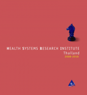 HEALTH SYSTEMS RESEARCH INSTITUTE   Thailand 2008-2010