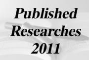 PUBLISHED RESEARCHES IN THE YEAR 2011