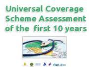 Universal Coverage Scheme Assessment of the first 10 years files download.